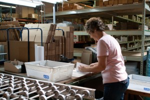 Pick & Pack Operations - Material Samples and Sales Literature Fulfillment