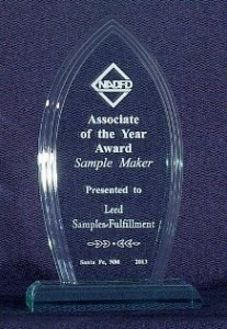 Leed received 2013 NADFD Award for Sample Maker of the Year
