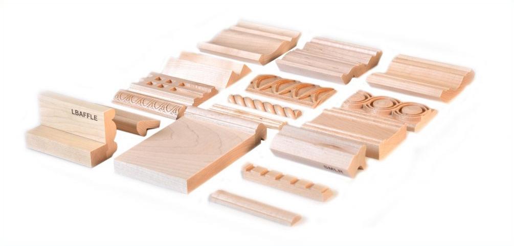 Wood Samples - Profile Samples