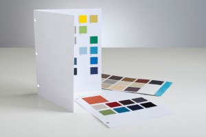 Surface Mounted Swatch Cards