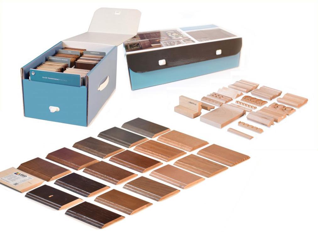 Wood Samples - Sample Display Kits