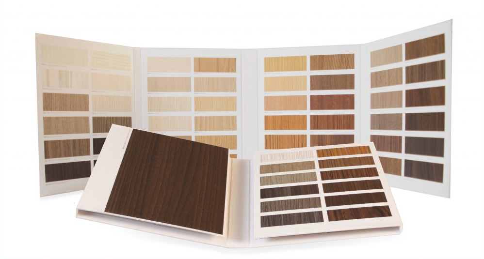 Wood Samples, Wood Sample Books, Architectural Folders, Presentation Folders, Shelf Folders